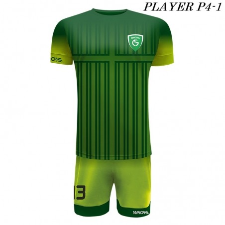 Strój Piłkarski Damons PLAYER P4 Zielony