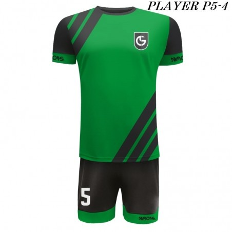Strój Piłkarski Damons PLAYER P5 zielono czarne