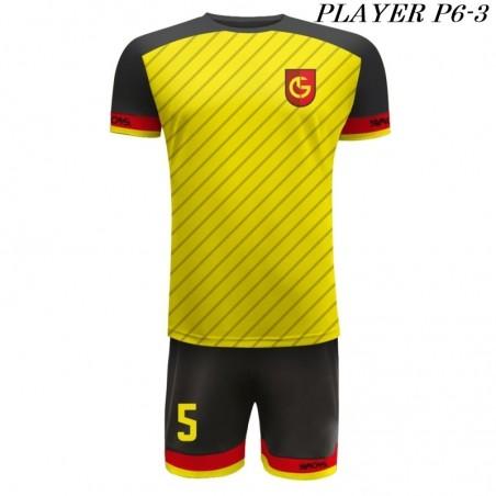 Strój Piłkarski Damons PLAYER P6 żółto czarne