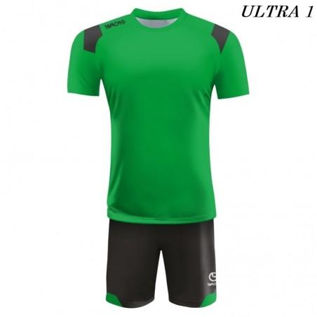 Strój Piłkarski Damons ULTRA zielono czarny
