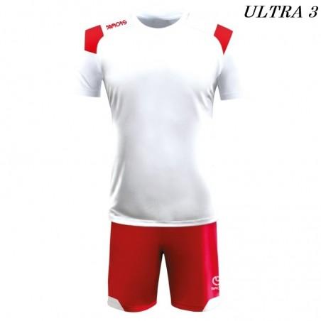 Strój Piłkarski Damons ULTRA biało czerwony