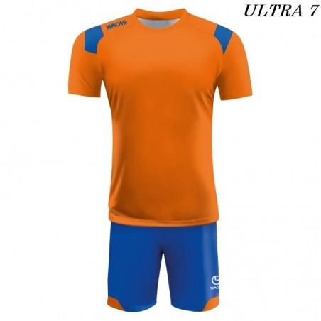Strój Piłkarski Damons ULTRA pomarańczowo niebieski