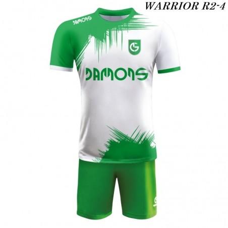 Strój piłkarski Damons Warrior R2 biało zielony