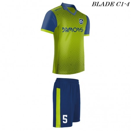 Strój piłkarski BLADE C1 groszek