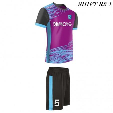 Strój piłkarski Damons SHIFT R2 zdjęcie z profilu