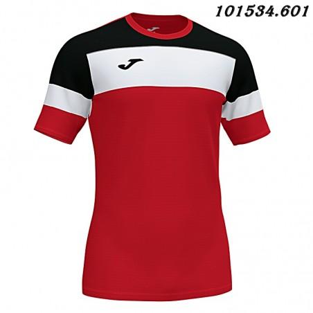 Koszulka piłkarska Joma Crew IV 101534- czarny-biały-czerwony