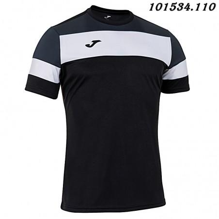 Koszulka piłkarska Joma Crew IV 101534- czarny-biały