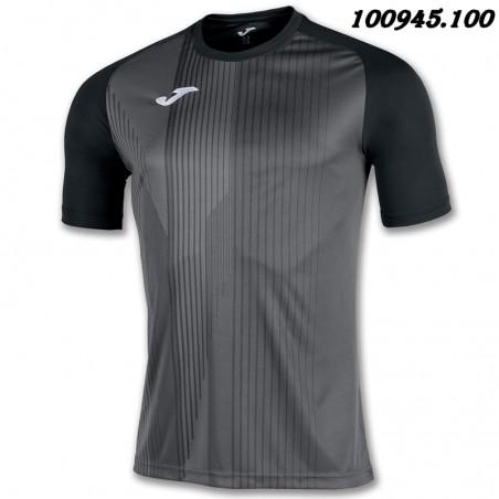 Koszulka piłkarska Joma Tiger 101945- czarna