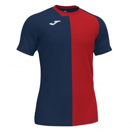 Koszulka piłkarska Joma CITY 101546- granatowo czerwona