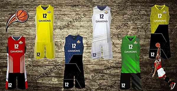 stroje dla koszykarzy