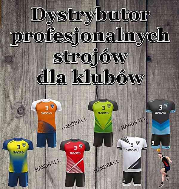 stroje dla piłkarzy ręcznych